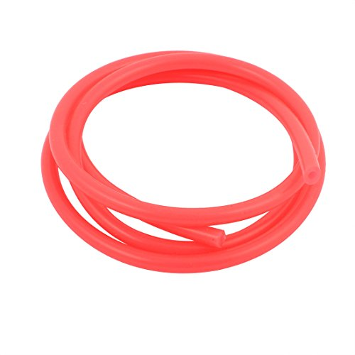 uxcell 1M Orange PVC Soft Silicone Single Way Anti-aging Gasoline Tube Accessories (Gas Rc Motorcycle)