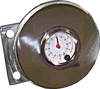 41-48 Chevy Car Clock Adapter - No Gauges - Just Panel ()