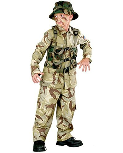 Child Delta Force Army Costumes - Delta Force Costume:toddler or Boys Army Marines Costume (8-10)