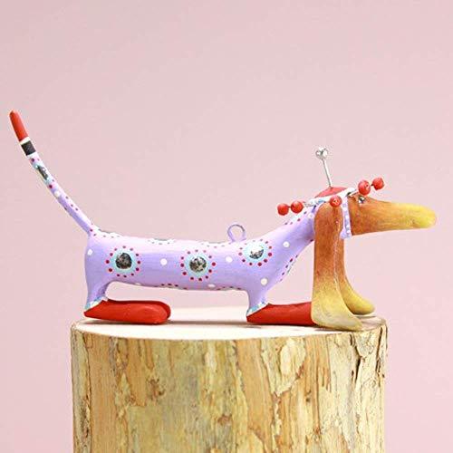 Patience Brewster Mini Chula Dachshund Figural Ornament #31312