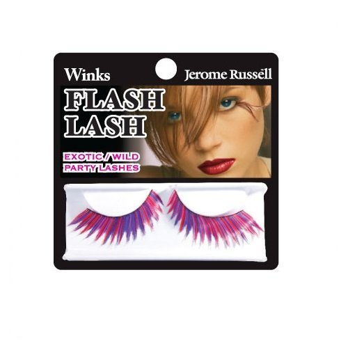 Jerome Russell Winks Flash - Jerome Russell Winks Flash Lash, 80's Pink Purple Blue by Jerome Russell