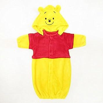 7f699f1a36860 プーさん 新生児なりきりアウター (コスチューム ベビー服) 50~70cm (くまの
