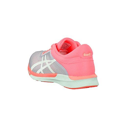 Asics Fuzex Rush, Zapatos para Correr para Mujer midgrey/bay/flash coral