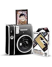 Fujifilm Instax Mini 40 Instant Camera Bundle with Instax Mini Contact Sheet Film Pack