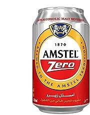 Amstel Zero Non-Alcoholic Malt Beverage - 330 ml