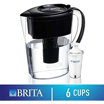 Amazon Com Brita 6 Cup Space Saver Bpa Free Water Pitcher