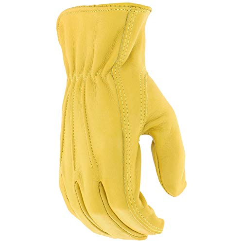 - West Chester 84000 Master Guard Premium Grain Cowhide Leather Driver Work Gloves: X-Large, 1 Pair