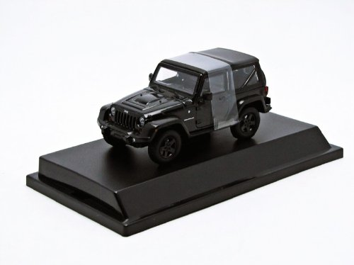 GreenLight 1:43 2012 Jeep Wrangler Rubicon, Black With Mopar Accessories