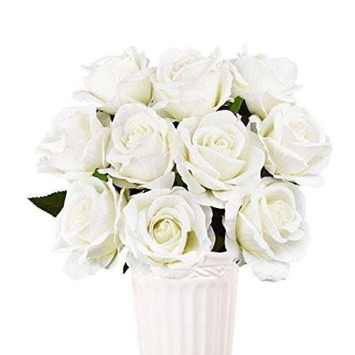 Sunm boutique - Ramo de Flores Artificiales de Seda para Boda, Ramo de Novia, Interior, Exterior, Cocina, Oficina, centros de...
