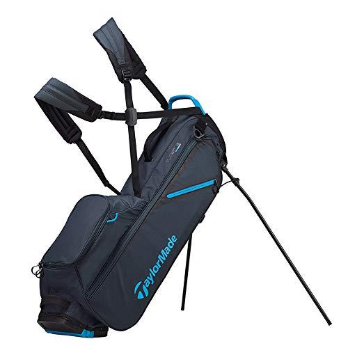 TaylorMade 2019 Flextech Lite Stand Golf Bag, Titanium/Blue
