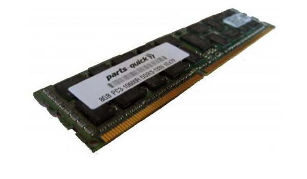 parts-quick 8GB Memory for Gateway Server GR585 F1 DDR3 1333MHz PC3-10600 ECC Registered Server DIMM