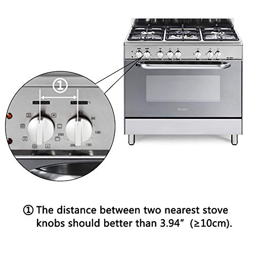 Eudemon Clear 6pack Safety Children Kitchen Stove Gas Knob Covers (6 Pack, Transparent) by EUDEMON (Image #5)