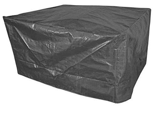 Housse 200x 140x 85cm Bâche de protection salon de jardin Hotte Bâche Cloche 200x140x85cm noir