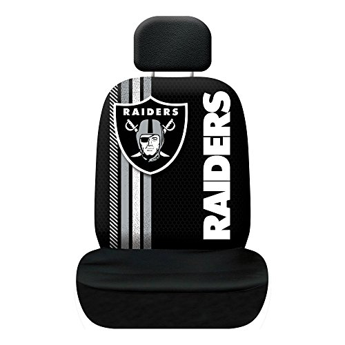 Fremont Die NFL Oakland Raiders Rally Seat Cover ()