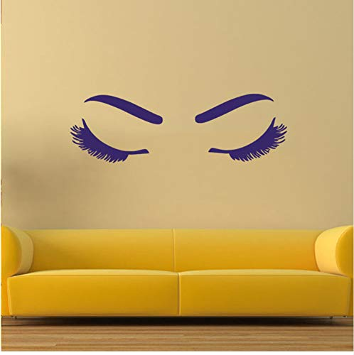 LSFHB Close Eyed Girl Bedroom Wedding Decoration Wall