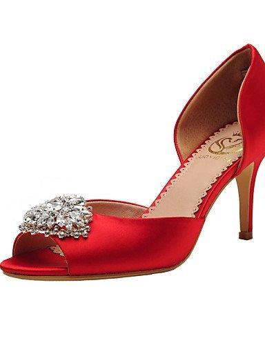 ShangYi Damen - Hochzeitsschuhe - Zehenfrei / DOrsay und Zweiteiler / Vorne offener Schuh - Sandalen - Hochzeit / Kleid / Party  Festivitauml;t -2 3/4inchampagne|2in