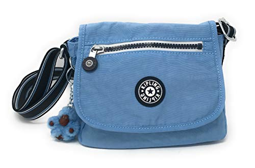 (Kipling Sabian Crossbody Mini Bag (One Size, River Blue Varsity Strap))