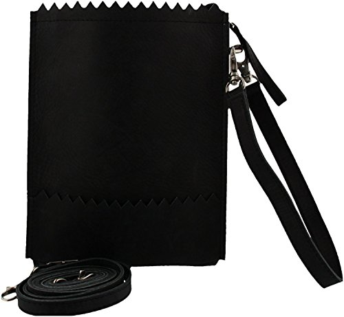 MYOMY My Paper Bag Hunter Off Black Crossbody MOM773901