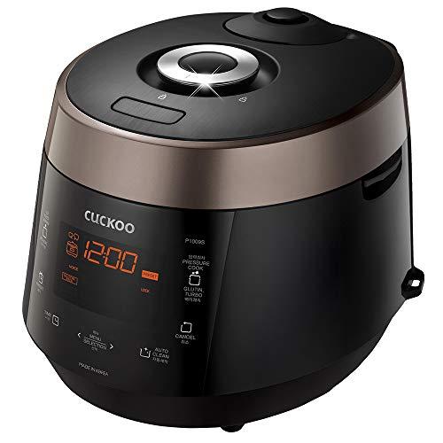 Cuckoo CRP-P1009SB Cuckoo CRP-P1009S 10 Cups Electric Pressure Rice Cooker, 120v, (Dk. Brown), Brown