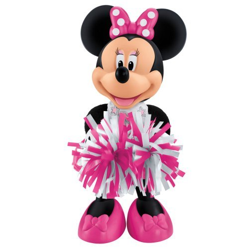 Price comparison product image Amazing Disney Mickey Mouse and Friends Minnie Mouse Cheerin' Figure by Fisher-Price