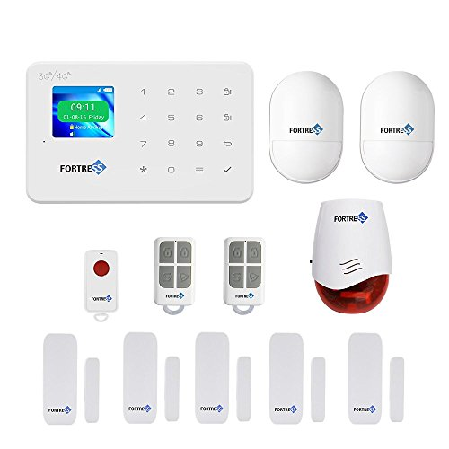 GSM 3G/4G Security Alarm- VEA Classic Wireless DIY Home and Business Security System Kit by Fortress Security Store- Easy to install Security Alarm System by Fortress Security Store