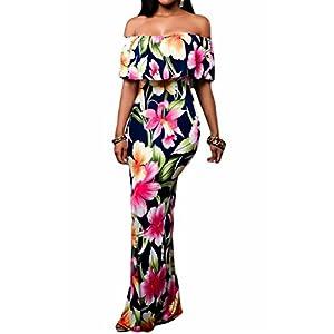 Off Shoulder Maxi Dresses