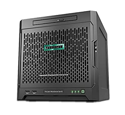 HPE ProLiant MicroServer G10 Mini Tower Server for Business, AMD Opteron X3421, 32GB RAM, 8TB Storage, RAID
