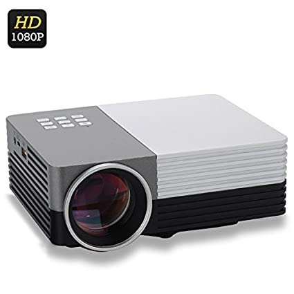 Mini proyector de vídeo LED LCD - 80 Lumens/1080p/HDMI/Diagonal de ...
