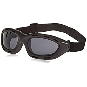 Crossfire 91352AF Element Safety Goggles Smoke Anti-fog Lens - Frame