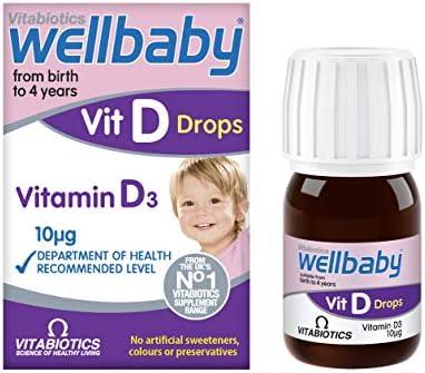 Amazon Com Vitabiotics Wellbaby Vit D Drops 30ml Health Personal Care