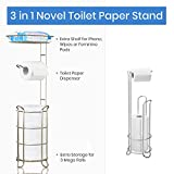 Toilet Paper Holder Stand Tissue Paper Roll