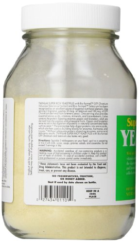 Twinlab Super Rich Yeast Plus, 16 Ounces (Pack of 2) by Twinlab (Image #4)