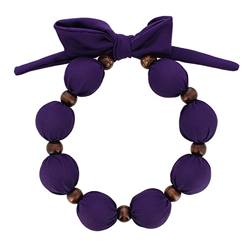 Nano-Ice Cooling Necklace - Purple - BEAT THE HEAT IN STYLE - Take out of freezer for Hours of Cooling - Pearl Ms Stores In