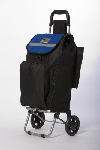 Amazon.com: Roadrunner Folding Grocery Shopping Cart 2 Wheel ...
