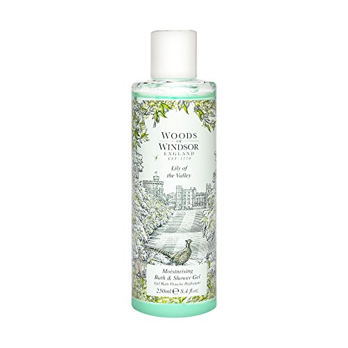 Woods Of Windsor Lily Of The Valley. Moisturizing Bath & Shower Gel 8.4 Oz/ 250 Ml for Women By 8.4 Fl Oz (Woods Of Windsor Lily Of The Valley)
