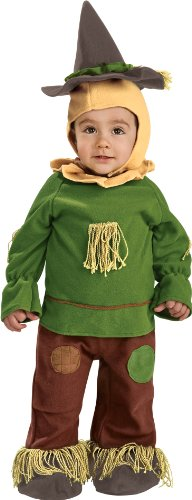 Girl Scarecrow Halloween Costumes (Wizard Of Oz Scarecrow Romper Costume, 6-12 Months)