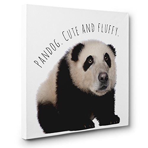 Pandog Hybrid Animal CANVAS Wall Art Home Décor