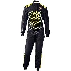 Automobili Lamborghini Accessories One Art Speed Professional Racing Suit 54 Black