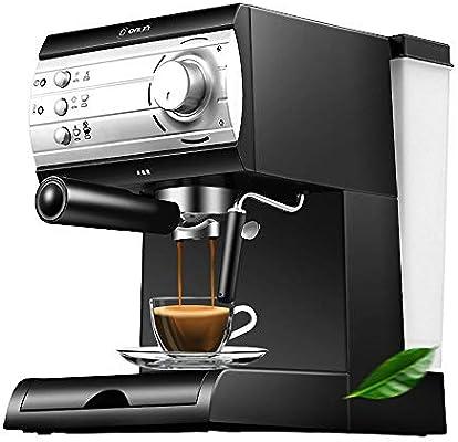 CBA BING Cafetera Espresso, con Leche al Vapor vaporizador, Top Caliente para la colocación de la Copa, con un Gran depósito de Agua extraíble: Amazon.es: Hogar