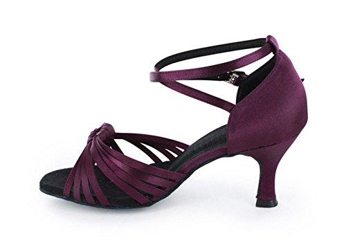 Minitoo ,  Damen Tanzschuhe Deep Purple
