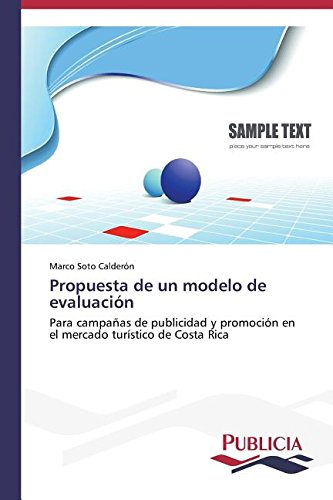 Download Propuesta de un modelo de evaluación (Spanish Edition) ebook