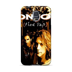 Anti-Scratch Hard Cell-phone Cases For Samsung Galaxy S5 (dUu2303IhuJ) Provide Private Custom High-definition Bon Jovi Pictures