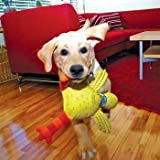 Bamboo Pet Doggie Hoots Floppability Barnyard Bully Toys, My Pet Supplies