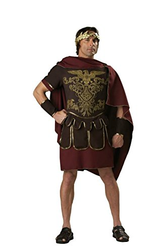 [Incharacter Mens Historic Roman Solider Warrior Marc Antony Costume, X-Large (46-48)] (Cheap Roman Costumes)