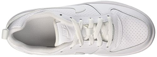 Bambino GS da Court Scarpe White Nike Basket Borough White Low vq6wqAB0