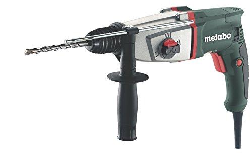 Metabo Kombihammer KHE 2644 mit Zusatzhandgriff, Multihammer für langes Arbeiten, auch zum Bohren ohne Schlag und Meißeln geeignet, Reichweite von 4 m