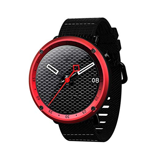 ADAHX Smart Sport Watch,GPS Bluetooth Heart Rate Digital Pedometer Ip67 Waterproof Multi Sports Function,fo Rwalking, Climbing, Cycling, Outdoor Run, Indoor Run,Red