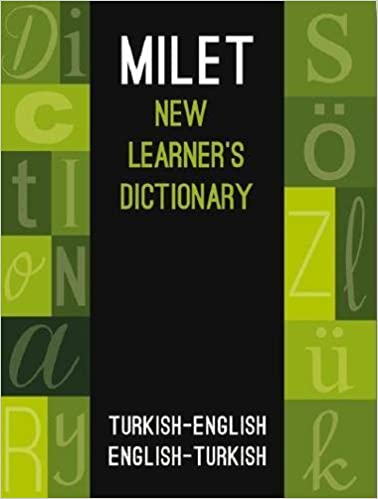 Book Milet New Learner's Dictionary: Turkish-English & English-Turkish