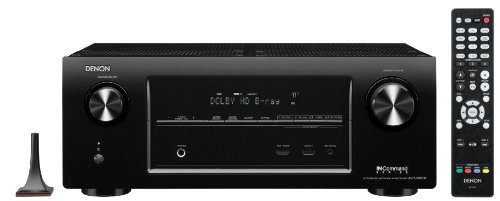 Denon AVR-X3000 7-Channel 4K Ultra HD Networking Home Theater Receiver with AirPlay