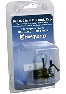 Husqvarna 531300354 Bar & Chain Oil Cap For 340, 345, 350, 351,